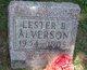 Lester B Alverson
