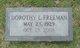 Dorothy Mae <I>Lassiter</I> Freeman