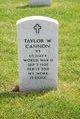 Profile photo:  Taylor W Cannon
