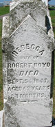 Profile photo:  Rebecca <I>Work</I> Boyd