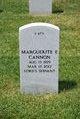 Profile photo:  Marguerite E Cannon