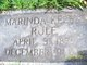 Susan Marinda <I>Keeble</I> Rule