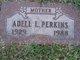 Profile photo:  Adell L Perkins