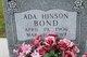 Profile photo:  Ada <I>Hinson</I> Bond