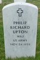Profile photo: Maj Philip Richard Upton