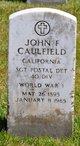 Profile photo:  John F Caulfield