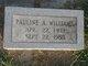 Pauline A. <I>Richerson</I> Williams
