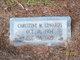 Christine <I>Moore</I> Edwards