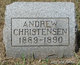 Profile photo:  Andrew Christensen