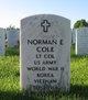 Norman E Cole
