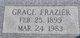 Grace <I>Pope</I> Frazier