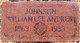 William Lee Andrew Johnson