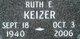 Profile photo:  Ruth E Keizer