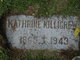 "Katharine ""Kate"" <I>McGough</I> Killigrew"
