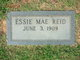Profile photo:  Essie Mae <I>Reid</I> Adams