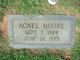 Profile photo:  Agnes Zora <I>Moore</I> Adams