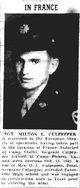 Profile photo: Sgt Milton L Culpepper