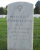 Harold E Cumberland