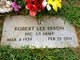 "Robert Lee ""Bobby"" Dixon"