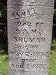 Profile photo:  Annie Shuman