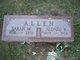 Sarah M. <I>Bates</I> Allen