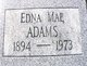 Profile photo:  Edna Mae Adams