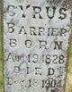 Cyrus Barrier