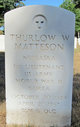 Thurlow Weed Matteson
