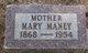 Mary R. Maney