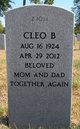 Cleo Bessie <I>Carver</I> Gritton