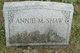 Annie M. Shaw