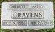 Garriott Marion Cravens