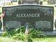 Eva Janet <I>Whiteman</I> Alexander