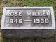 Rose L. <I>Meister</I> Miller