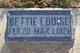 Bettie Louise McClelland