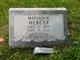 Martha Ann <I>Mehl</I> Mercer