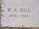 William Alexander Hall