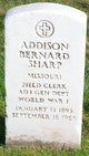 Profile photo:  Addison Bernard Sharp