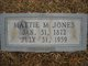 "Martha Jane ""Mattie"" <I>McGuire</I> Jones"