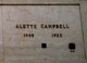 Profile photo:  Alette Ragnhild <I>Knudson</I> Campbell