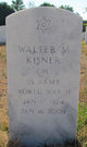 Walter Max Kisner