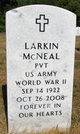 Larkin Horman McNeal