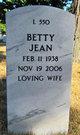 Betty Jean <I>Brown</I> Winters