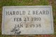 Harold Z. Beard