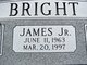 Profile photo:  James Bright, Jr