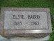 Elsie <I>Bradshaw</I> Baird