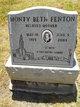 """Monty Beth """"Beth"""" <I>Pedlar</I> Fenton"""