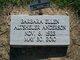 """Barbara Ellen """"Baby"""" <I>Altsheler</I> Anderson"""