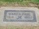 """Marion """"Mary"""" <I>Curry</I> Paul"""