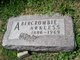 Profile photo:  Arkless Abercrombie